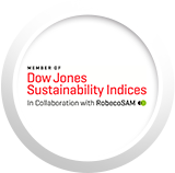 We are members of the Dow Jones Global Sustainability Indexes